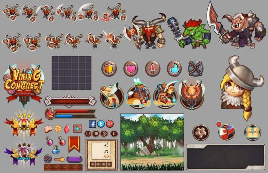 Asset game mobile by dante2906