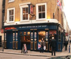 Fish and Chip Shop in Greenwich by RevelloDrive1630