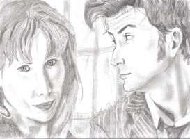 The Doctor and Donna by grobanfan9109