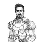 Tony Stark by SilverLeon88