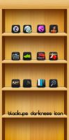 Black'UPS Darkness icon pack 1 by kios