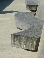 Wood Bench by LL-stock