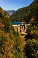 Gorge Dam by KRHPhotography