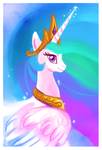 Princess Celestia by griffsnuff