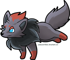 Zorua by Pharaonenfuchs