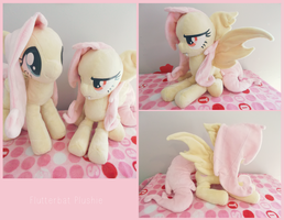 :: Flutterbat Plushie :: by Fallenpeach