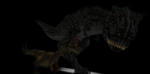 MMD Newcomer Nidhogosaurus + DL by Valforwing