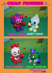 Chao Figures C by MEISerenade