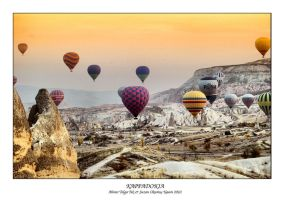 Balloons in Kappadokia 2 by thespis1