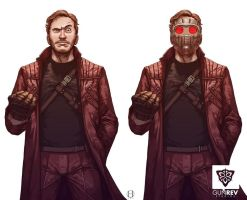 Star Lord by GunshipRevolution