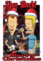 M. Christmas Beavis - Butthead by rogferraz