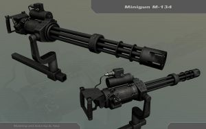 Minigun M-134 by Awiz