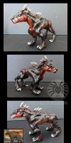 Sculpey Warhound by drakhenliche