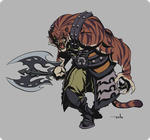 Tiger Warrior by Tongman