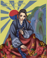 HAPPY NEW YEARS :D  -HANBOK- by x-itachi
