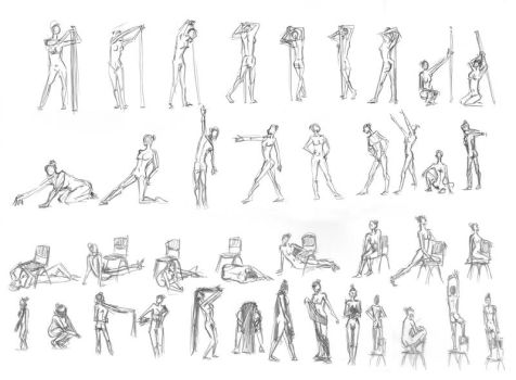 Movement Studies by Luna-Kaneshiro