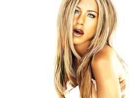 - Jennifer Aniston Vexel - by sonicwindartist