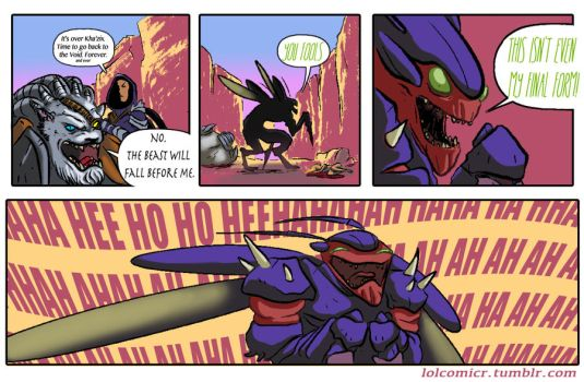 Defeating a Kha'zix only makes it stronger by thanekats