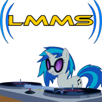 LMMS Vinyl Scratch (DJ PON3) Custom Icon by AlicornBob