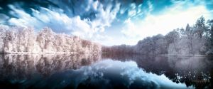 Lakeside IR Pano by Creative--Dragon