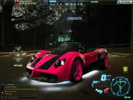 NFSW Pink zonda! by skyres2