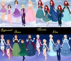 Disney Fashions 7 by DisneyFlower
