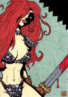 Red Sonja AP 2 by soliton