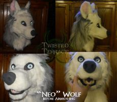 Neo Wolf (Before Airbrushing) by TwistedTerrace