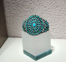 Turquoise Bracelet by MLeighS