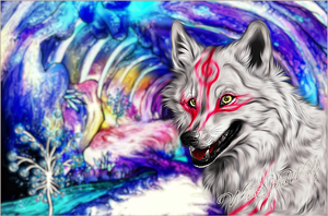 .:Shiranui::Happy God:. by WhiteSpiritWolf