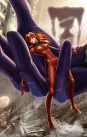 Asuka Langley (NSFW Available) by AlanVadell