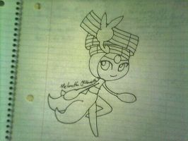 Meloetta Pirouette Form by Will6790