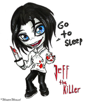 + Jeffy the Killer chibi + by Cathaclysm