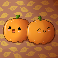 Cute Food- Pumpkins by PPGxRRB-FAN