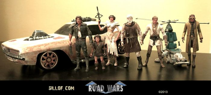 ROAD WARS - Good Guys by sillof