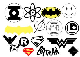 DC super Hero Insignia by Geekbot71