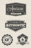 Free Vintage Label Vector Graphics by Designslots