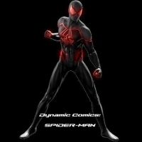 Dynamic Comics: Spider-Man: Modified suit by stick-man-11