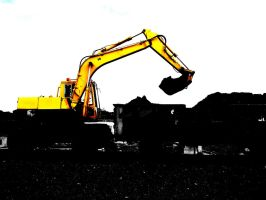 Digger Rail by agreenbattery