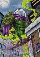Mysterio - Sketch Card by tonyperna