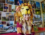 Luna Lovegood Lion Hat Cosplay by LaurenIsACrazyLlama