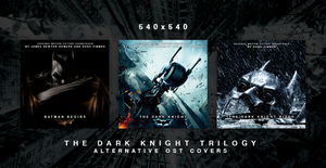 The Dark Knight Trilogy - Alternative OST Covers by HelloMrBen