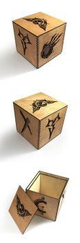 JRPG Wooden Box by Athey