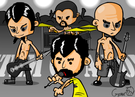 System of Down Fanart by hyperboy