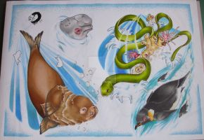 sealife sheet 3 by willowtreetattoos