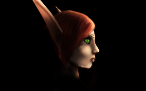 Blood Elf Painting by Young-M