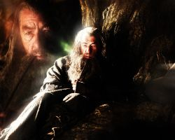 Hobbit: An Unexpected Journey. Gandalf 2 by StalkerAE