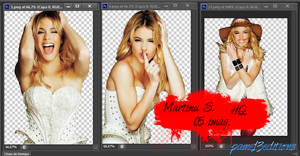 Pack png-Martina S by pame13editions
