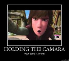 Hiccup can't handle new technology by nightfury10