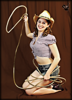 Ride em cowgirl by VintageImagery